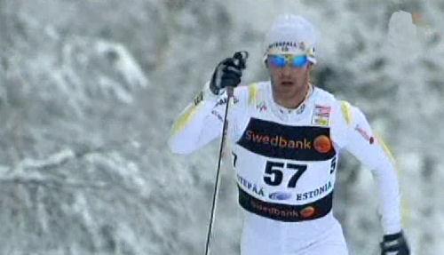 Anders Södergren i Otepää 2010-01-16