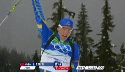 Björn Ferry vinner OS-guld!