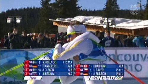 Johan Olsson OS-brons!
