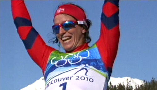 Marit Björgen OS-vinnare
